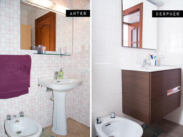 Cambiar azulejos ba o sin obra - Revestimientos banos sin obra ...